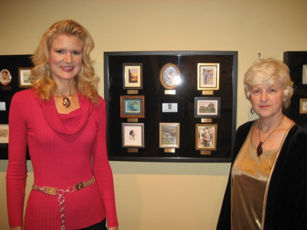 Miniature Artists of America 2008-2012 Traveling Exhibition on display